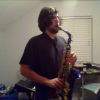 Me playing my sax